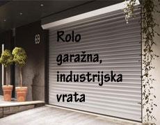 Garažni roloji in industrijski