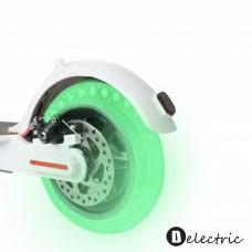 Fluorescent tire for Xiaomi skiro M365