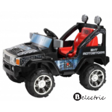 Children's jeep, hummer on 12V 2x45W battery, radio